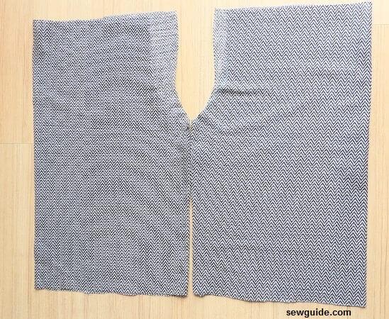tutorial de costura de falda culotte