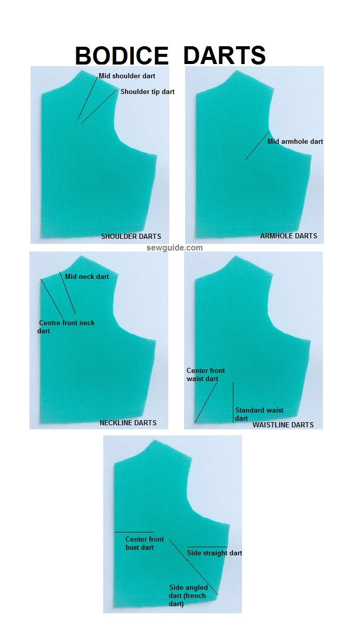 como coser dardos