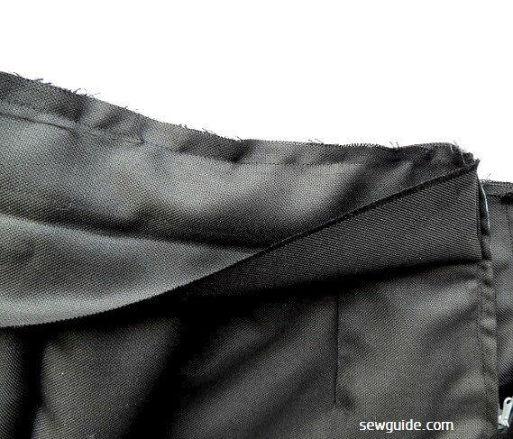 coser falda lápiz patrón libre
