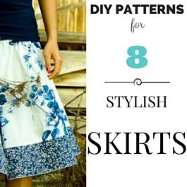 patrones de falda con estilo