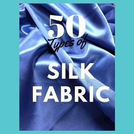 tipos de tela de seda