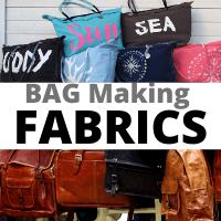 mejores telas para hacer bolsas