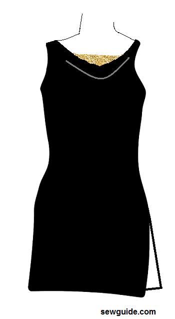escotes de traje