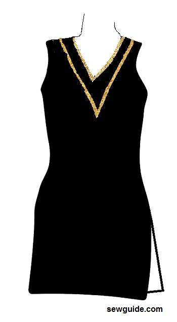 estilos de cuello de traje punjabi