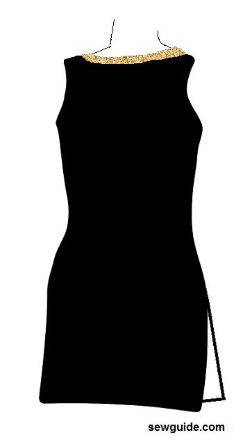 traje de cuello