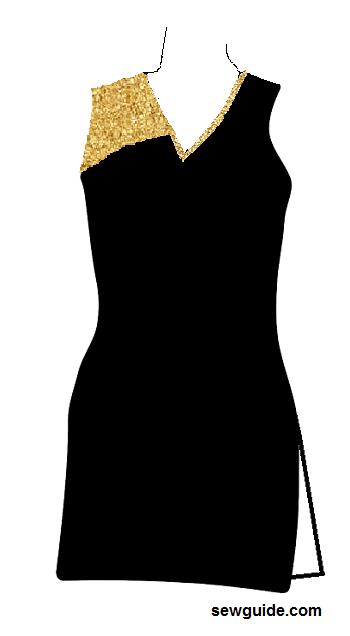 diseños de cuello churidar