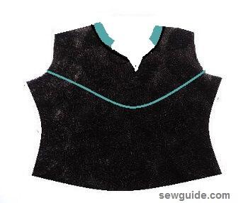 diseños de escote para trajes salwar y kurtis