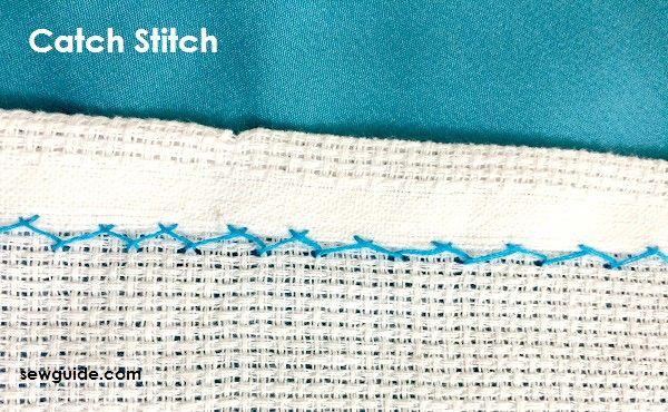 puntada fácil de coser a mano