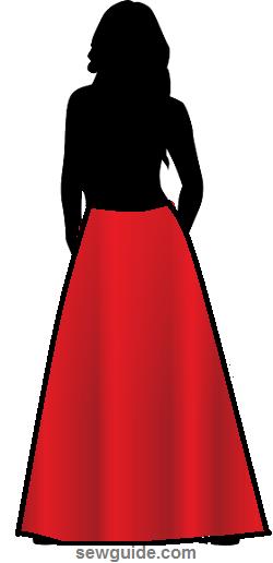 dobladillos en faldas y vestidos