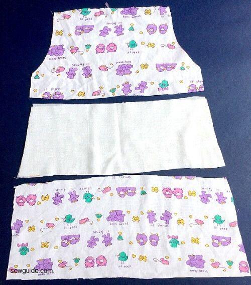 como coser un vestido de niña