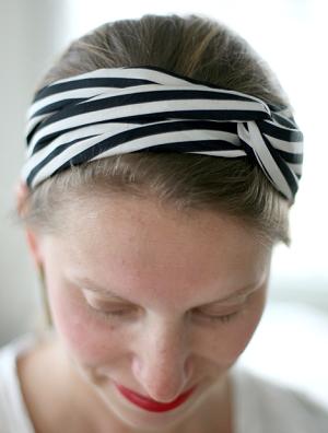 diadema retorcida turbante