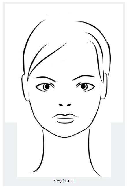 forma de la cara