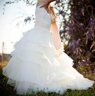 diseño del vestido de boda