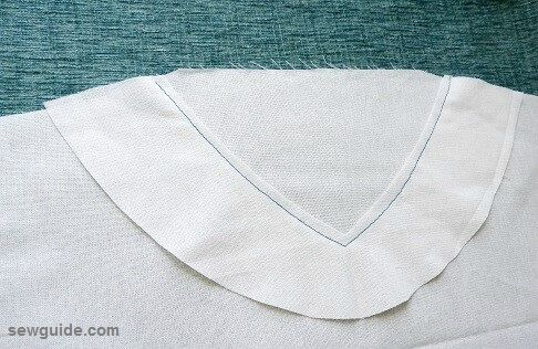 como coser cuello av