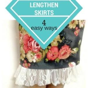 antideslizante diy para faldas / vestidos
