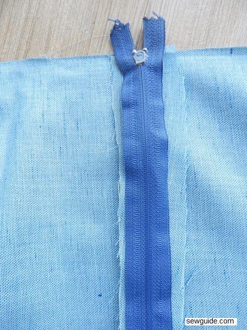 tutorial de costura de falda dirndle