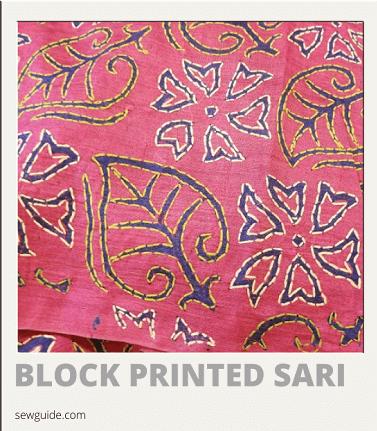 tipos de sari