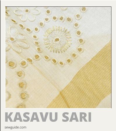nombres de diferentes tipos de saris