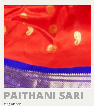 diferentes tipos de nombres e imágenes de sari