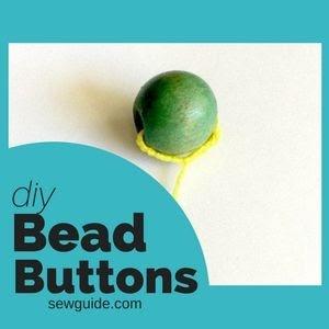 Cómo coser botones de cuentas
