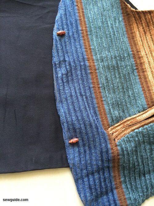 patrón de costura de chaleco de mujer