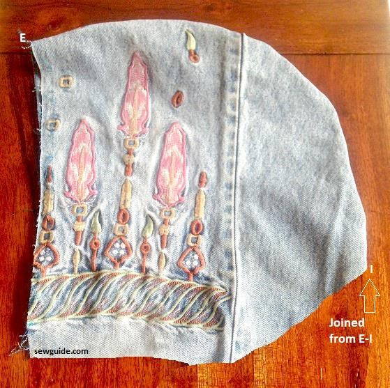 bufanda con capucha con bolsillos