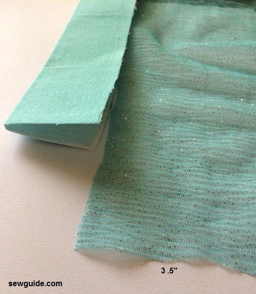 patrón de falda lehanga