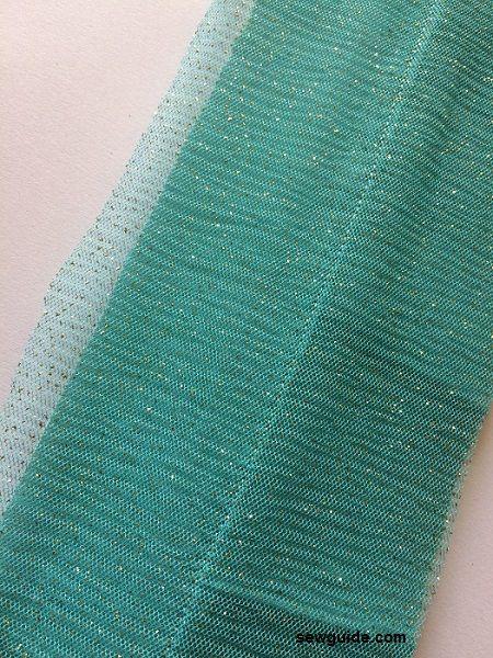 como coser la falda lehenga