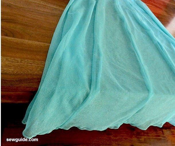 falda de coser lehenga
