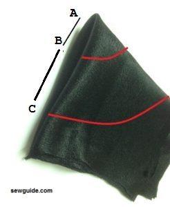 coser una falda skater