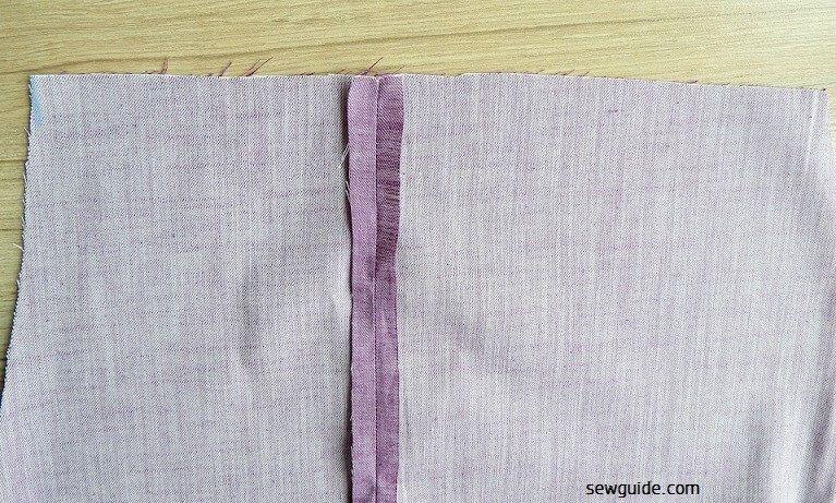 costura fácil de pantalones
