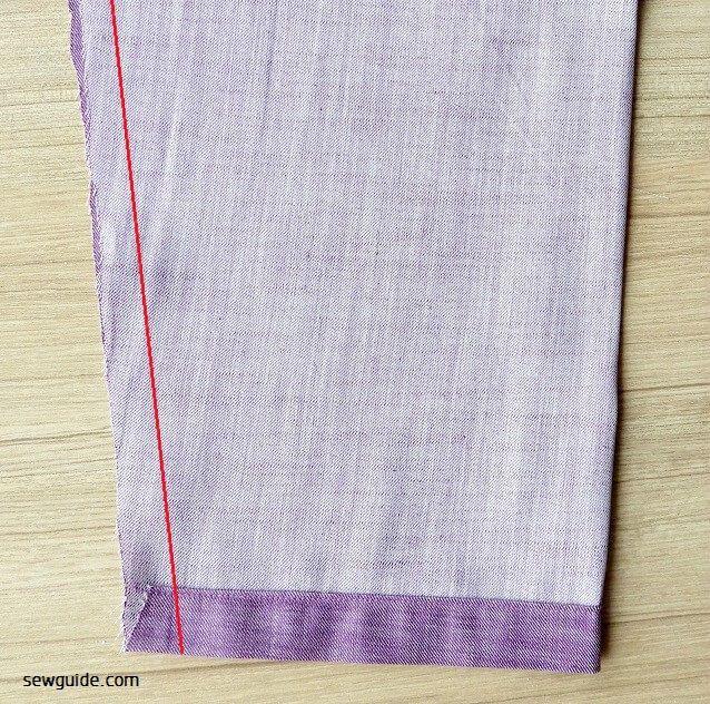 pantalones de coser