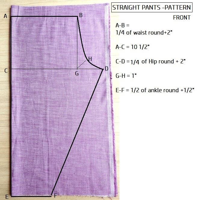 hacer pantalones fáciles