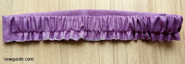 patrón de costura de pantalones rectos simples