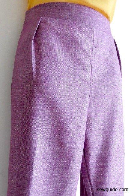 coser pantalones cómodos