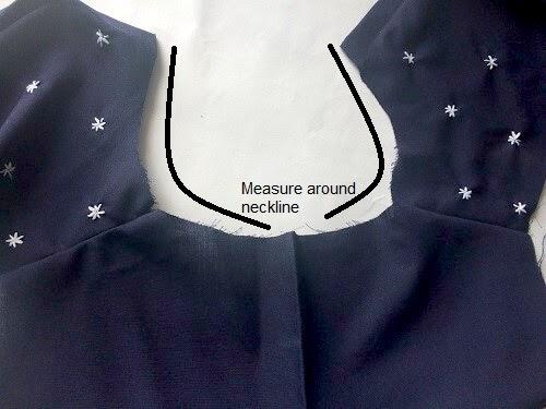 como coser una camisa con corbata