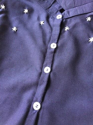 hacer un patrón de costura libre de camisa delantera de corbata