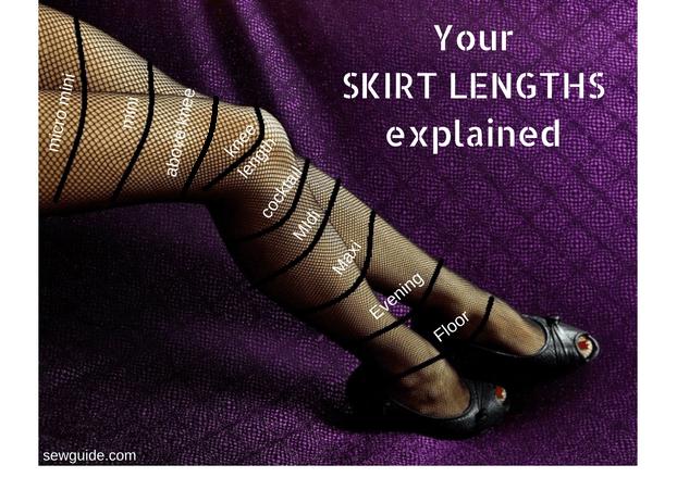 longitud de la falda