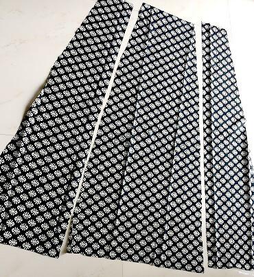patrón de vestido de panel libre