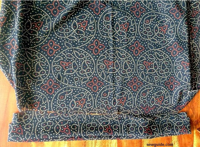 coser patrón de estilo boho