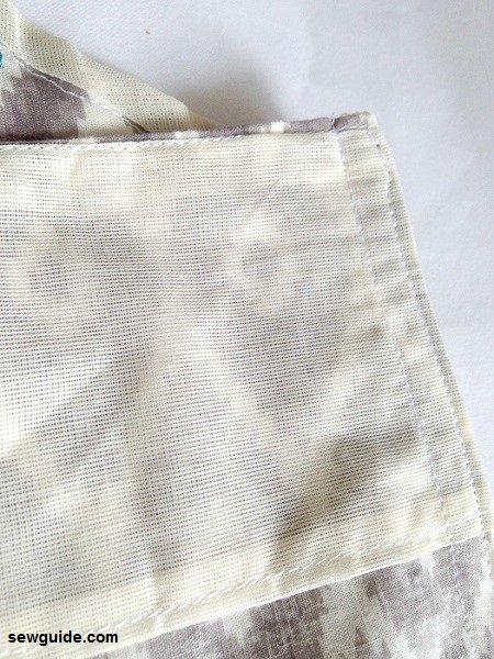cómo coser un patrón superior de camisola