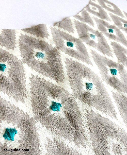 patrón de costura de camisola