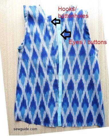 hacer patrón de vestido