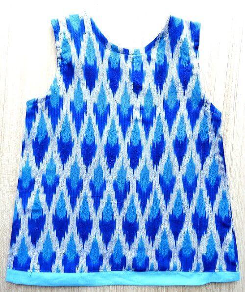 patrón de diseño de vestido de niña