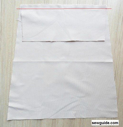 tutorial de costura de bolsas de supermercado