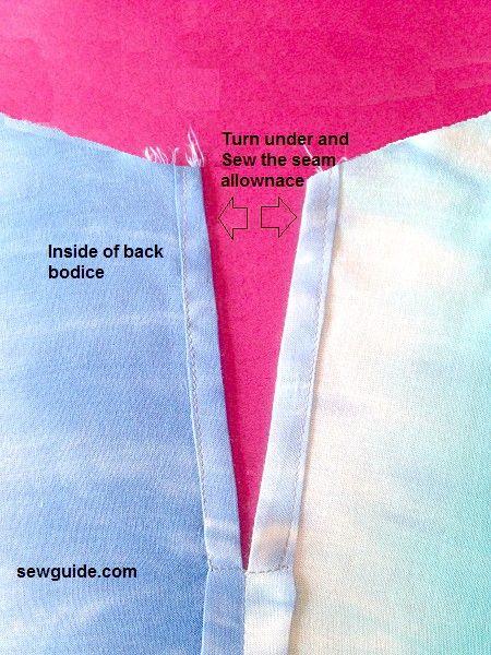 cómo coser fácil de coser camiseta sin mangas