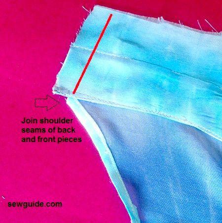 Cómo coser una camiseta sin mangas rápidamente
