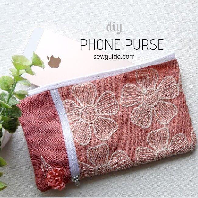bolso de teléfono fácil