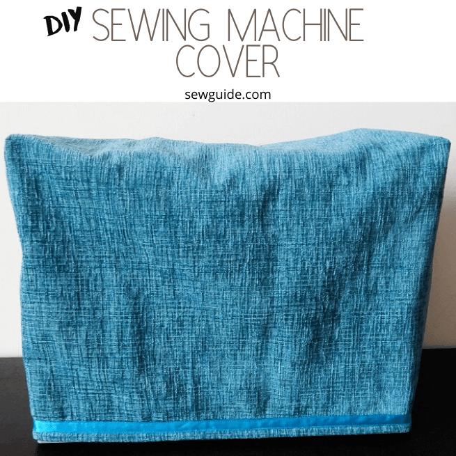cubierta de la máquina de coser