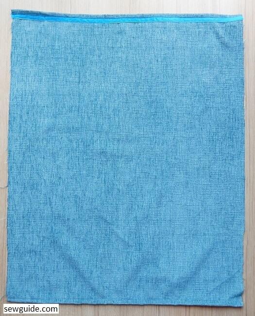 cubierta de la máquina de coser diy